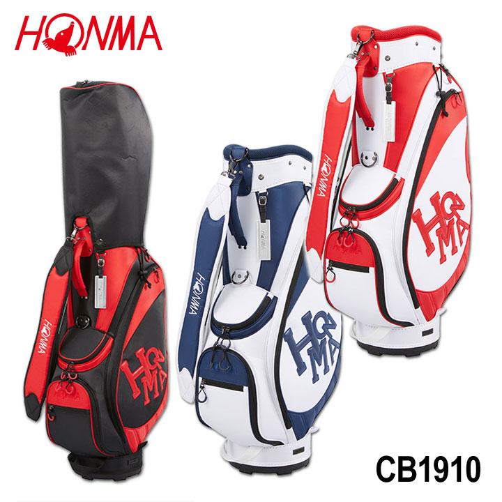 【2019モデル】本間ゴルフ CB-1910 カジュアルモデルキャディバッグ Dancing HONMA CB1910 特価