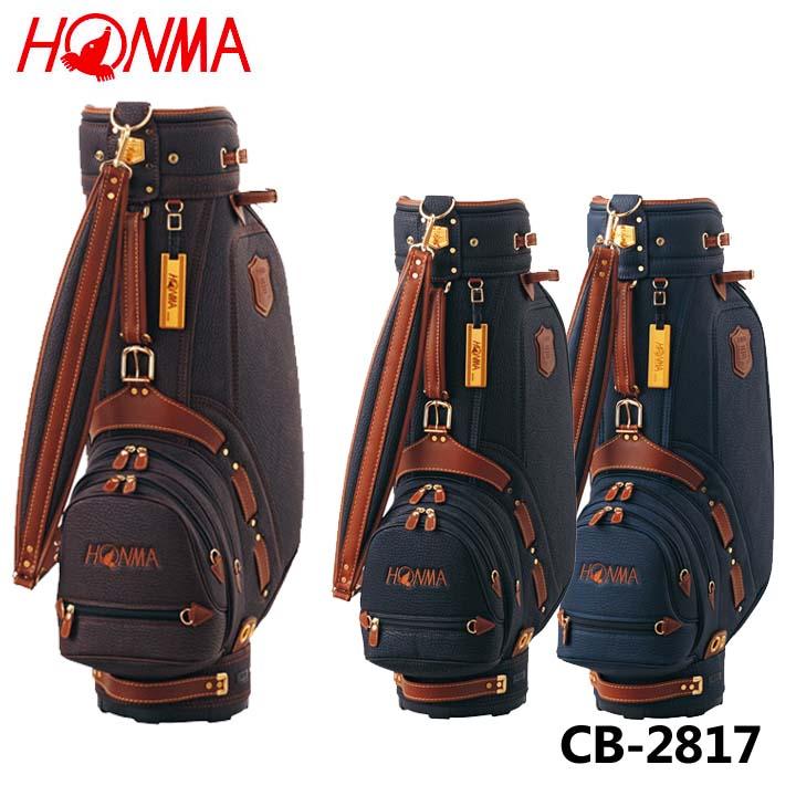 本間ゴルフ CB-2817 ラグジュアリーキャディバッグ 9.0型 4.5kg 47インチ対応 HONMA 20p