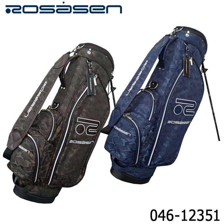 【2020モデル】ロサーセン 046-12351 スタンド キャディバッグ カモフラージュ柄 Rosasen 即納
