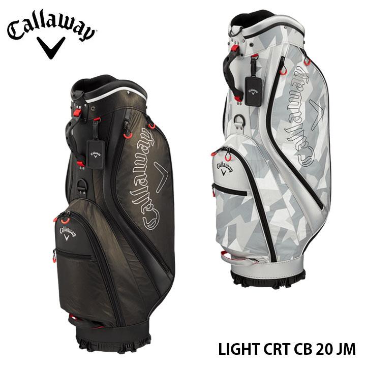 【2020モデル】キャロウェイ ライト メンズ キャディバッグ 9.0型 2.4Kg 20JM BG CG CRT LIGHT Callaway 10P