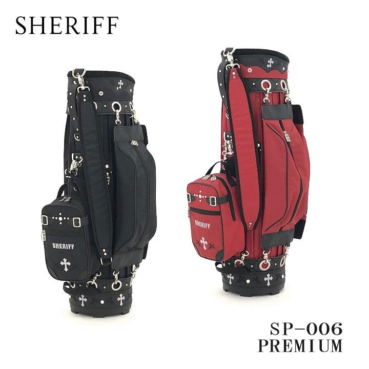 シェリフ SP-006 マジカルキャディバッグ PREMIUMシリーズ 9.5型 2.8kg SHERIFF