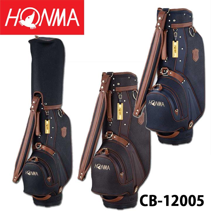 【2020モデル】本間ゴルフ CB-12005 クラシックモデルキャディバッグ 9型 3.7Kg ゴルフ HONMA 20P