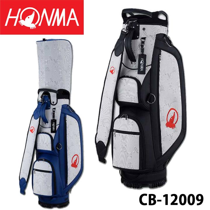 【2020モデル】本間ゴルフ CB-12009 ユニセックスモデル 春夏アパレルコレクションデザインキャディバッグ 9型 3.5Kg HONMA 20P