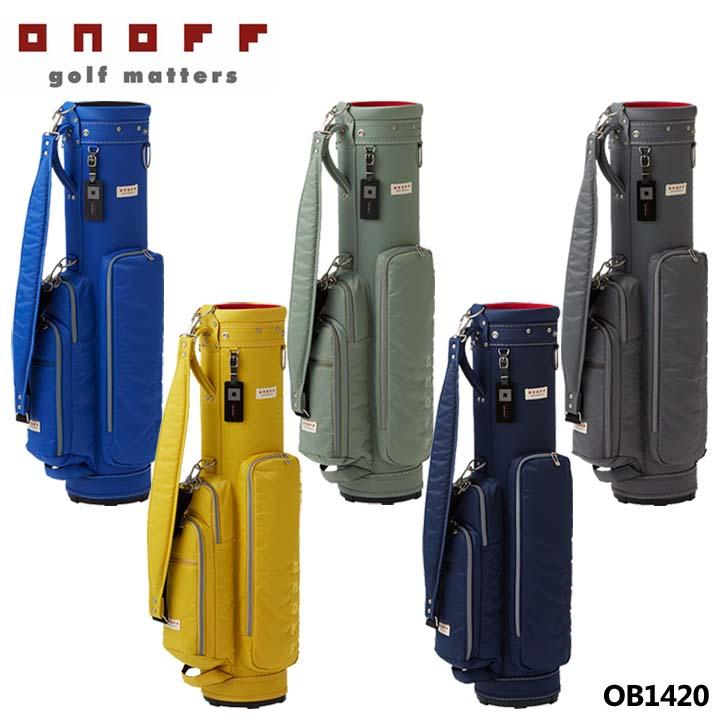 【2020モデル】オノフ OB1420 カート型 キャディバッグ 7.0型 2.0kg 47インチ対応 ONOFF 10p