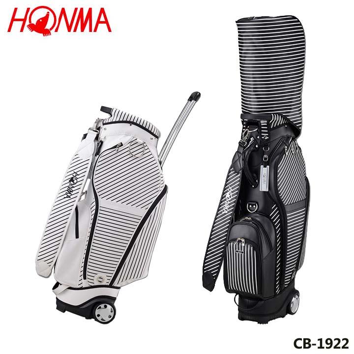 【2019モデル】本間ゴルフ CB-1922 ユニセックスモデル タイヤ付キャディバッグ 9型 4.2kg HONMA 20p
