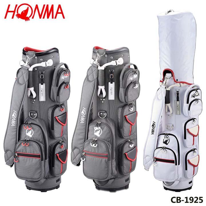 【2019モデル】本間ゴルフ CB-1925 ユニセックスモデル ポケットいっぱいキャディバッグ 8.5型 3.3kg HONMA 20p