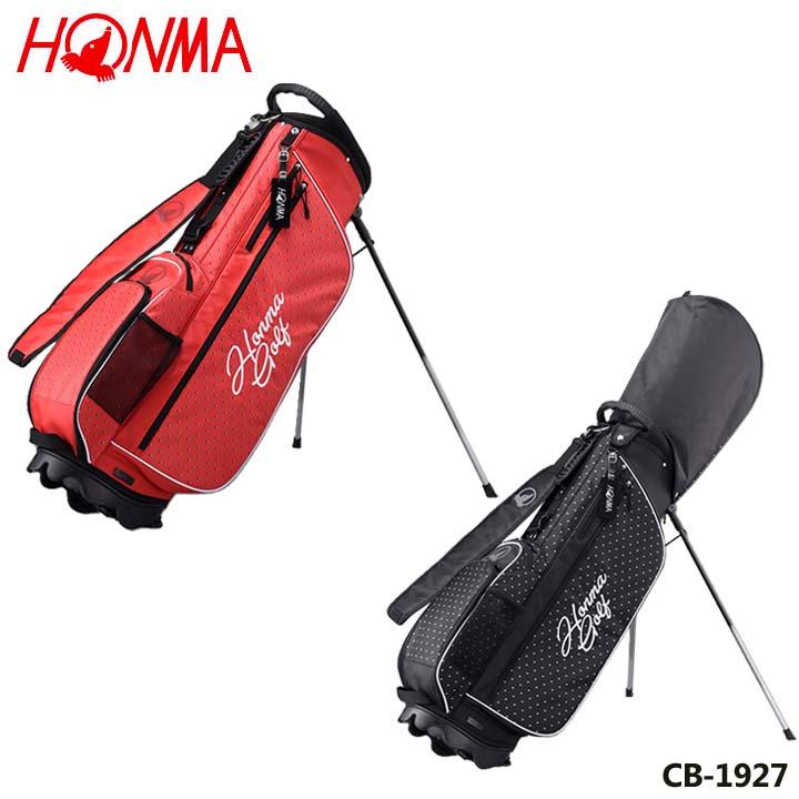 【2019モデル】本間ゴルフ CB-1927 ユニセックスモデル 軽量スタンドバッグ 8.5型 2.6kg HONMA 20p