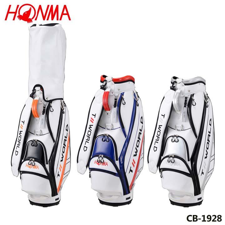 【2019モデル】本間ゴルフ CB-1928 TOURWORLD スポーツキャディバッグ 9型 3.7kg HONMA 20p