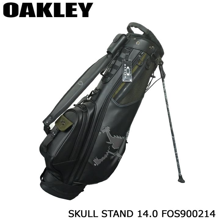 【2020モデル】オークリー FOS900214 スカル スタンド 14.0 キャディバッグ スタンド 8型 3.2kg SKULL STAND OAKLEY