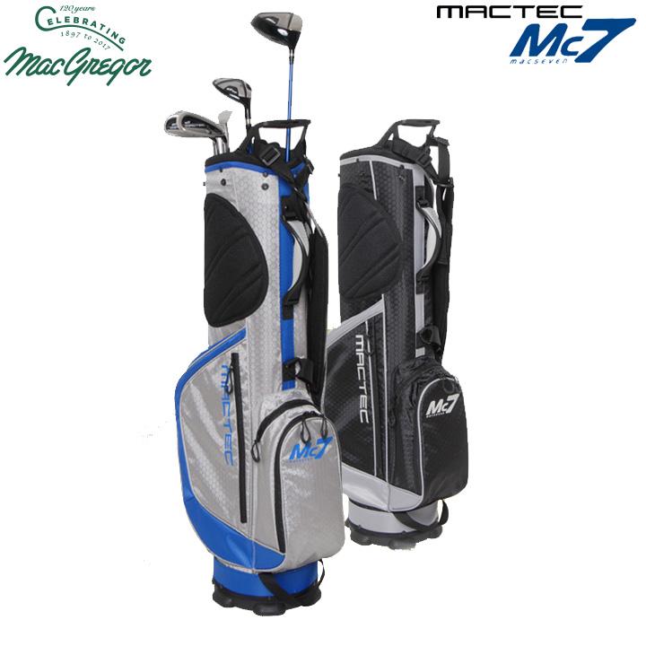 マグレガー Mc7 マックセブン ゴルフクラブセット 7本組 (1W,UT,I7,I9,W,SW,PT) 日本正規品 キャディバッグ付き Macgregor macSEVEN MACTEC