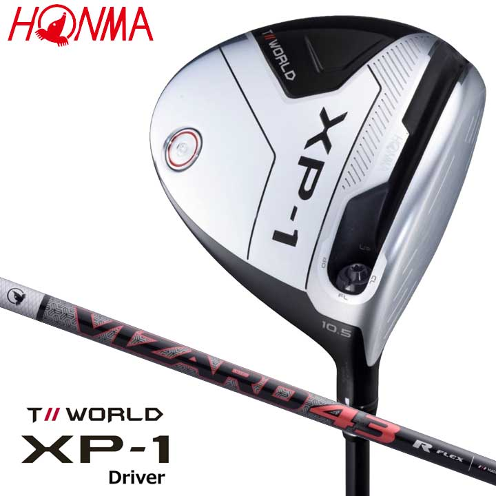 【2019モデル】 本間ゴルフ XP-1 ドライバー シャフト:VIZARD43 カーボン HONMA