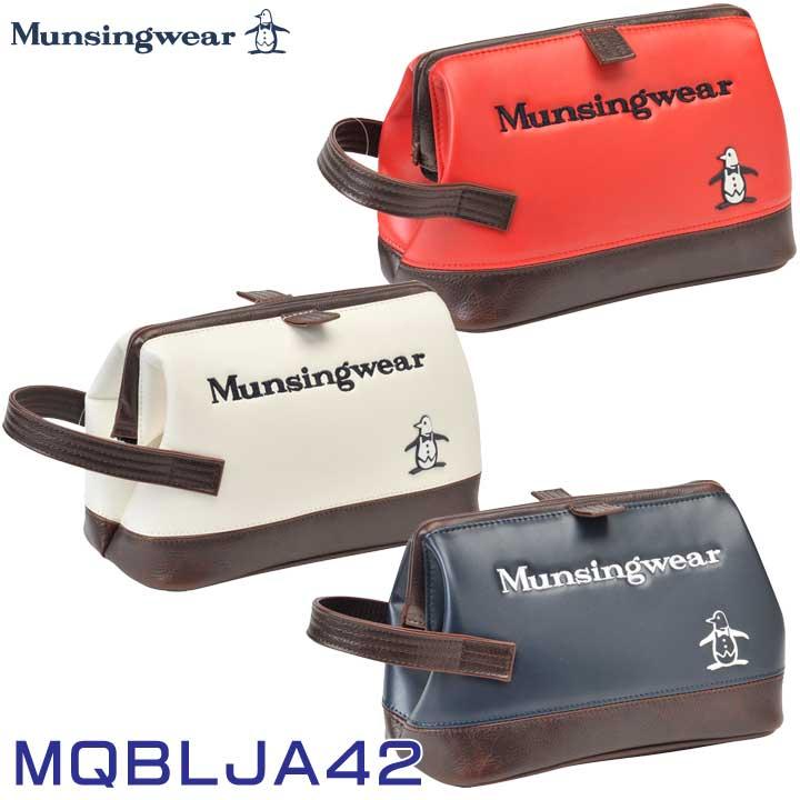マグネットタイプのポーチ 2021継続モデル マンシングウェア MQBLJA42 日本 激安価格と即納で通信販売 Munsingwear ポーチ
