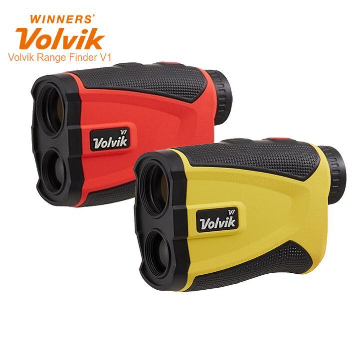 ボルビック レンジファインダー V1 イエロー/レッド レーザー距離計測器 Volvik Range Finder V1