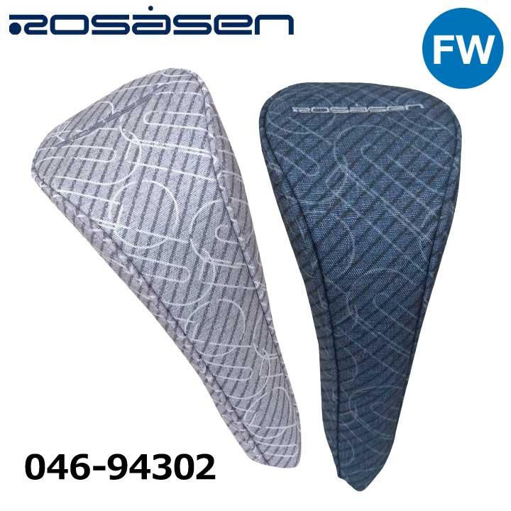 毎日続々入荷 デニムの組織柄とロサーセンロゴのアレンジプリント 2021モデル ついに再販開始 ロサーセン 046-94302 ヘッドカバー Rosasen フェアウェイウッド用