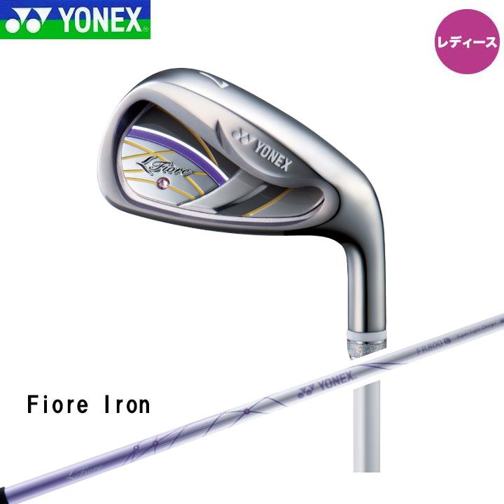 【レディース】【2020モデル】ヨネックス フィオーレ アイアン カーボン5本セット(♯7~9・PW・SW)シャフト:FR800 カーボン YONEX Fiore Iron
