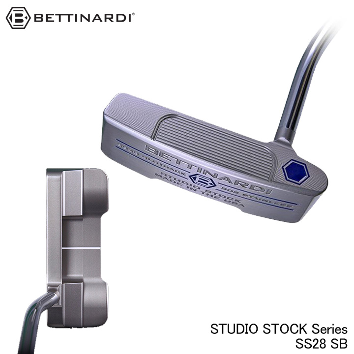 【2019モデル】ベティナルディ スタジオストックシリーズ SS28 SB パター BETTINARDI STUDIO STOCK
