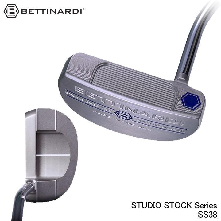 【2019モデル】ベティナルディ スタジオストックシリーズ SS38 パター BETTINARDI STUDIO STOCK