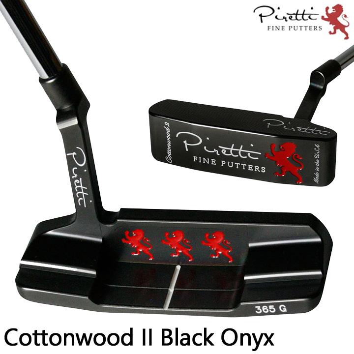 ピレッティ パター コットンウッド2 ブラックオニキス CottonwoodII Black Onyx Piretti