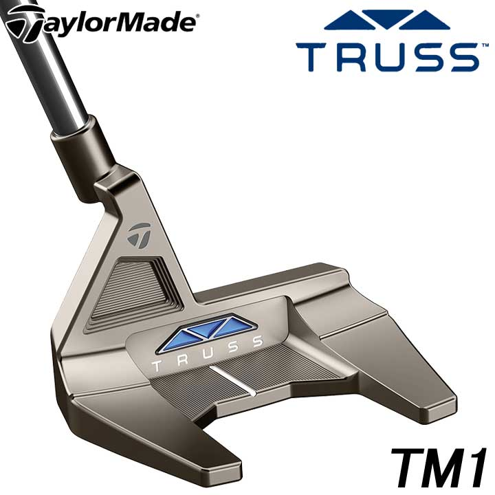 【2020モデル】テーラーメイド トラス TM1 トラスヒール パター 日本正規品 TaylorMade TRUSS PUTTER 30p