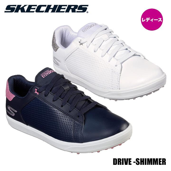 【レディース】【2019モデル】スケッチャーズ 14882 DRIVE SHIMMER ゴルフシューズ SKECHERS DRIVE SHIMMER