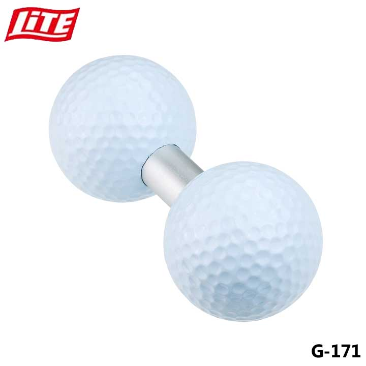 ライト 限定タイムセール G-171 ダブルパッティングボール ゴルフ LITE パッティング練習器具 希少