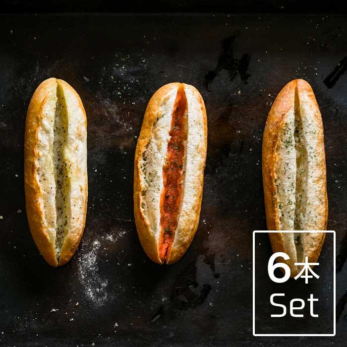 人気のフランスパン3兄弟をお取り寄せ専用にリニューアルし 詰め合わせました 3 980円以上で送料無料 ふらんす3兄弟 6本セット 柚子胡椒フランス2本 通信販売 明太フランス2本 ガーリックフランス2本 超激安特価