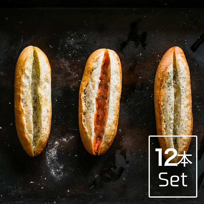 人気のフランスパン3兄弟をお取り寄せ専用にリニューアルし モデル着用&注目アイテム 詰め合わせました 3 980円以上で送料無料 ふらんす3兄弟 12本セット 柚子胡椒フランス4本 明太フランス4本 ガーリックフランス4本 奉呈