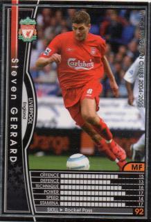 WCCF/04-05/041/Steven Gerrard / 利物浦黑色