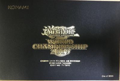 遊戯王 WCS2019 World Championship 2019 来場記念カード2枚セット【封筒未開封】