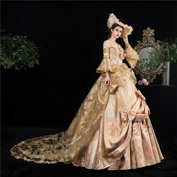 全品送料無料 貴族 衣装 王族服 カラードレス ドレス ステージ衣装としても最適 お姫様ドレス 中世貴族風 新劇演出 オペラ声楽 結婚式 パーティードレス パニエ追加可d9274c0 セール商品 演出服 ヨーロッパ風 としても最適 現代劇演出