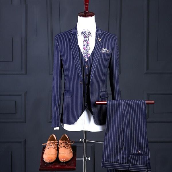 メンズ 限定モデル スーツ セットアップ 1つボタン メンズスーツ ビジネス スリム 贈物 MEN'S SUIT スリムスーツ 紳士服 背広 M 3XL 卒業 卒業式 2XL dg558f0 代引き不可 S L ネイビー ストライプ XL
