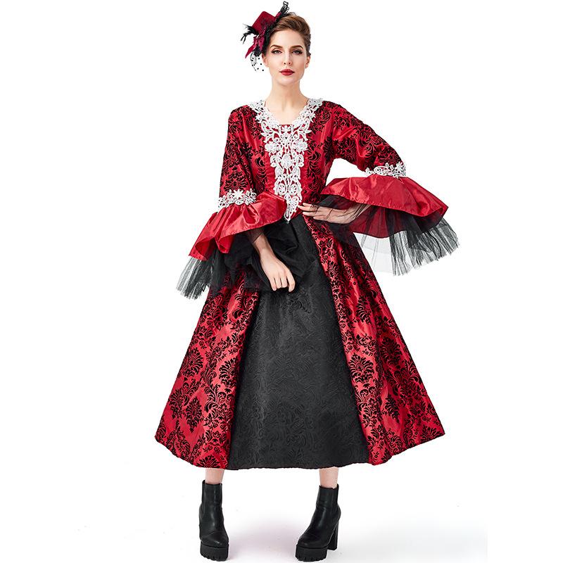 ハロウィン コスチューム 悪魔 吸血鬼 ヴァンパイア 鬼魔女 仮装 大人用|女王様 コスプレ 魔女 コスプレ衣装 可愛いコスプレ レディース 文化祭 ハロウイン ハロウィーン 大人 ハロウィン衣装 衣装 かわいい 女性 ハロウィンコスチューム 大きいサイズ お化け屋敷 ドレス