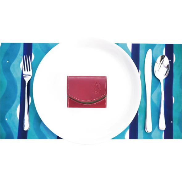 小さい財布 栃木レザー 【極小財布】クアトロガッツ ペケーニョトマト