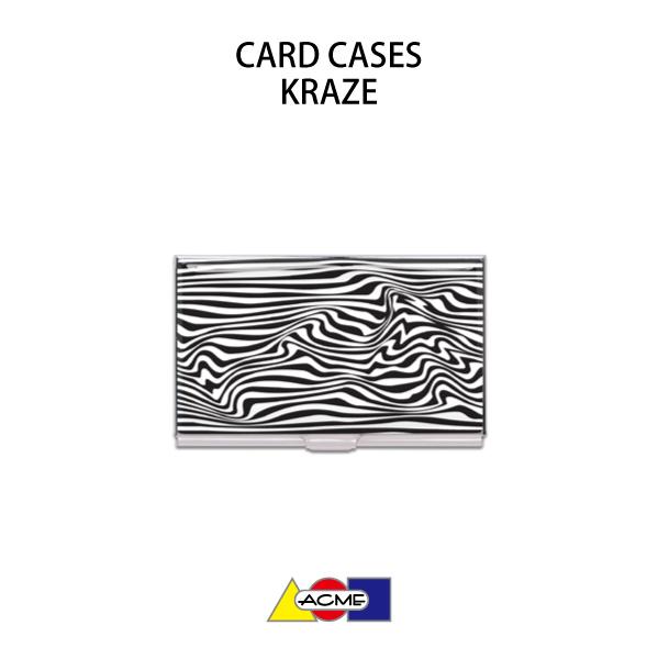 【名刺入れ】ACME(アクメ)カードケースKRAZE