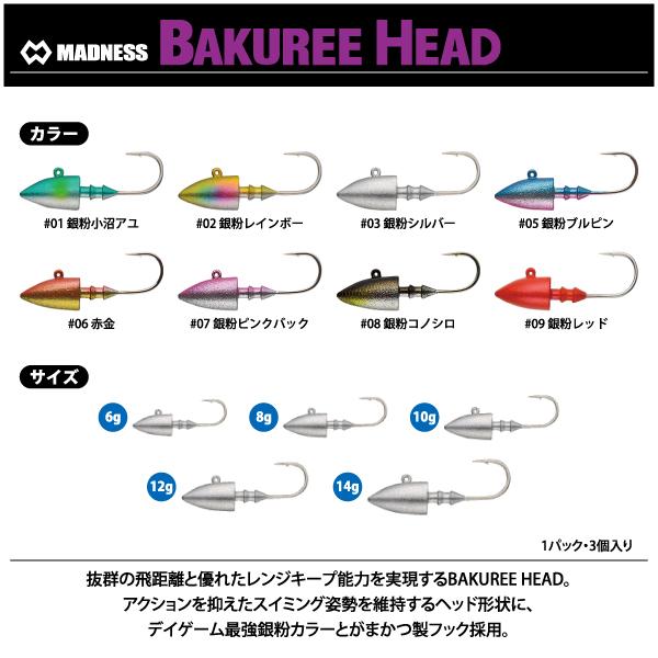 Madness bakuree head
