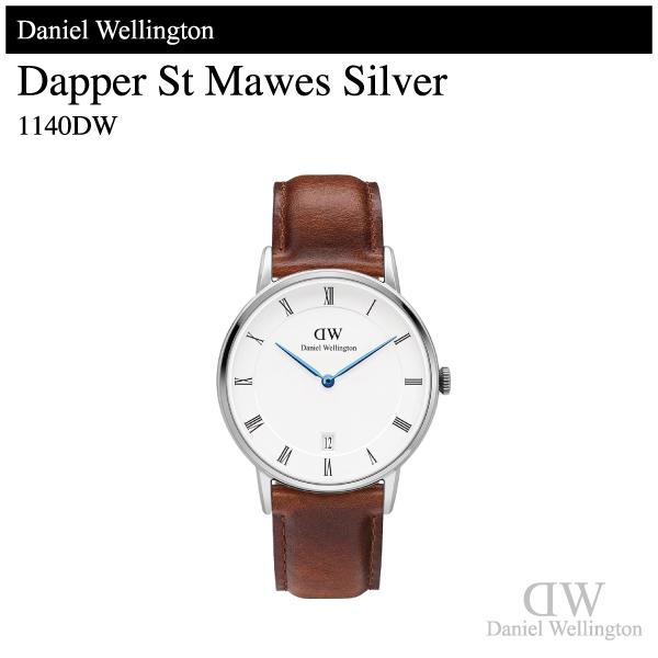 【腕時計】Daniel Wellingtonダニエル・ウェリントンDapper St Mawerダッパー セントモーズシルバー 34mm1140DW