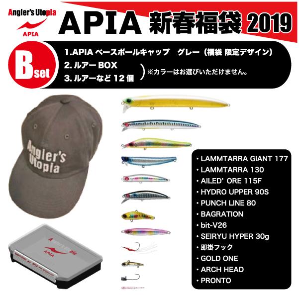 【福袋】APIA アピア新春福袋 2019Bセット