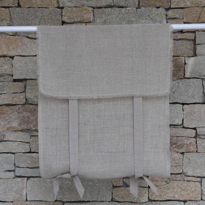 南仏-リネンカーテン-サンレミ ナチュラル W45×H120cm
