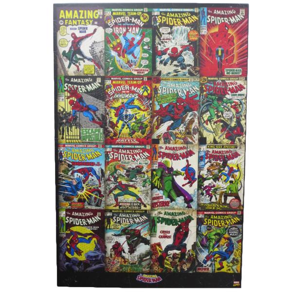 ウッドフレームポスター スパイダーマン ポスター スパイダーマン 【マーベル】spiderman poster アメリカ直輸入 Marvel 正規品