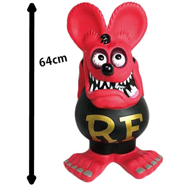 ラットフィンク ジャンボ コインバンク レッド 【 FUNKO 】64cm 貯金箱 エドロス R/F COIN BANK Rat Fink Jumbo coin bank red
