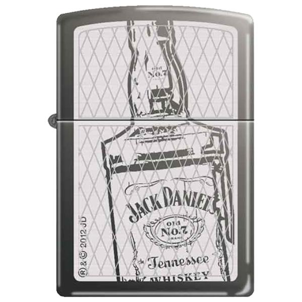 ZIPPO 【 JACK DANIEL'S Bottles 】ジッポーライター ジャックダニエル アメリカ製 ライター ブランド ライター おもしろ Made in U.S.A 喫煙具 タバコ 彼氏 お父さん ギフト 誕生日プレゼント