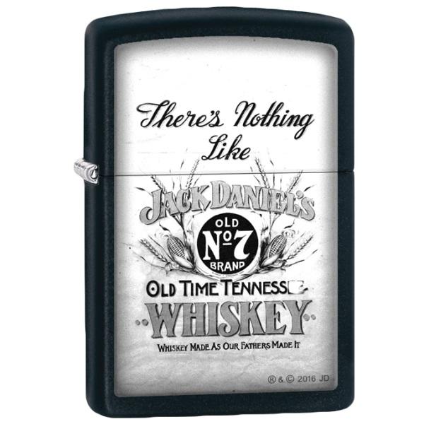 【 ZIPPO 】Jack Daniel's There's Nothing Like  ジッポー ジャックダニエル ライター  ライター ブランド ライター おもしろ Made in U.S.A 喫煙具 タバコ 彼氏 お父さん ギフト 誕生日プレゼント