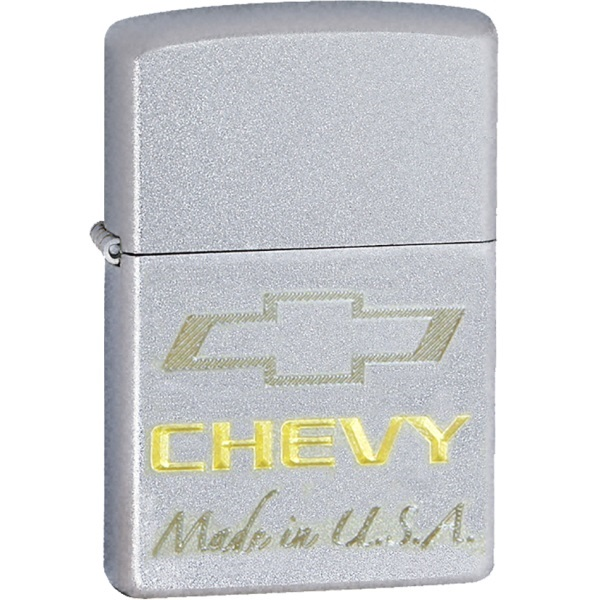 ZIPPO ジッポーライター   Chevy Bowtie 2 Tone  ライター ブランド ライター おもしろ Made in U.S.A 喫煙具 タバコ 彼氏 お父さん ギフト 誕生日プレゼント