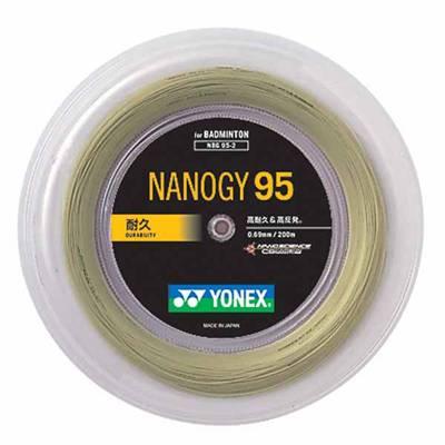 ヨネックス YNX-NBG952 ナノジー95 (528)コスミックゴールド 【返品交換不可商品】