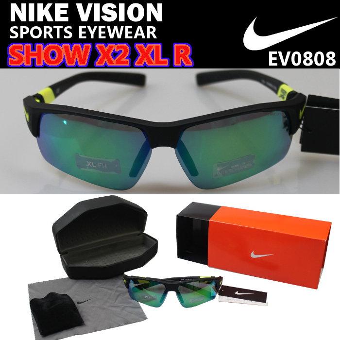 【即納・送料無料・50%OFF!】ナイキ(NIKE) サングラス SHOW X2 XL R (メンズ レディース スポーツ アイウェア ナイキヴィジョン VISION) EV0808
