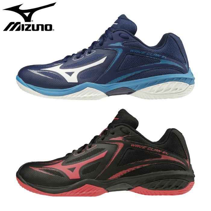 ミズノ(mizuno)バドミントンシューズ ウエーブクロー EL(レディース メンズ シューズ 靴 バドミントン 屋内 体育館シューズ インドア 部活)71GA2080