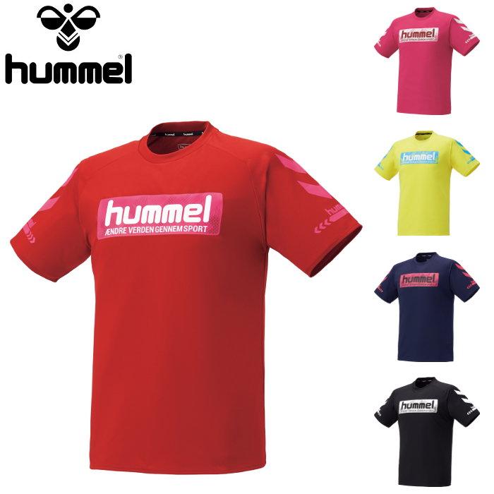一点までメール便利用可 カラーバリエーション豊富なプラシャツ あす楽対応 ヒュンメル hummel メンズ NEW Tシャツ トップス 半袖 トレーニング 運動 ハンドボール プラシャツ レディース 高品質 プラクティスTシャツ スポーツ HAP4133