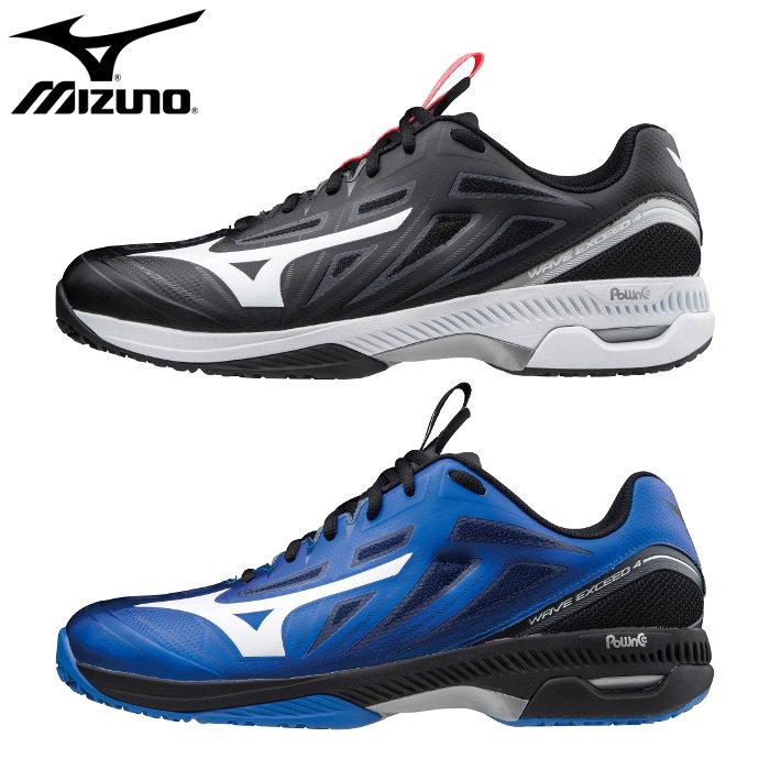 ミズノ テニスシューズ 送料無料 mizuno ウエーブエクシード 4 SW OC メンズ ソフトテニス ユニセックス レディース テニス 大規模セール 靴 シューズ 激安超特価 クレーコート用 61GB2014