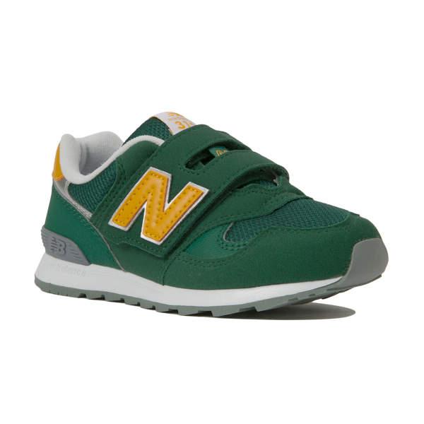 ニューバランス PO313GR PO313GR GR(GREEN/YELLOW) (キッズ 子供 シューズ 靴 スニーカー 運動 かわいい 男の子 女の子 外遊び ジュニア)