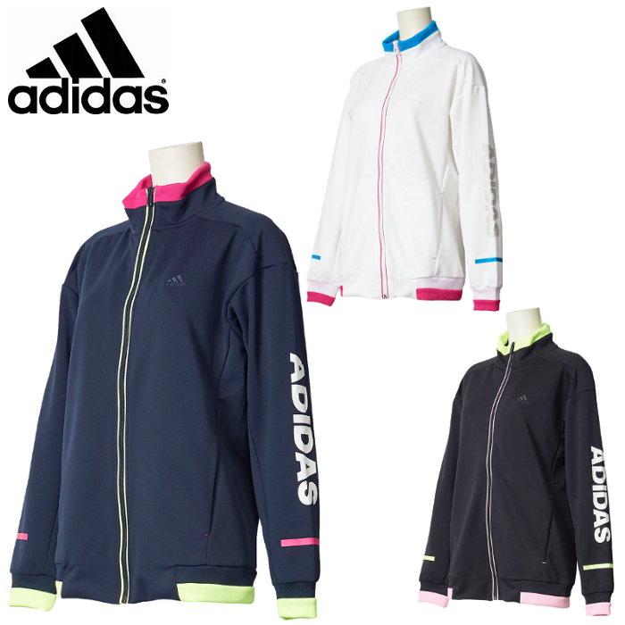 アディダス (adidas)W TEAM ウォームアップジャケット(レディース ウィメンズ 女性 ジャケット ウェア アウター トレーニング 運動 部活 練習)FTK63